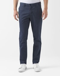 Norse Projects Navy Blue Aros Slim Chinos