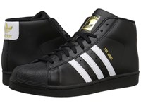 Adidas Pro Model Core Black Footwear White Gold Metallic Men's Classic Shoes