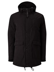 John Lewis Kin By Parka Coat Black