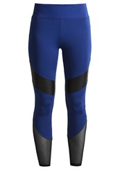 Evenandodd Active Tights Sodalite Blue
