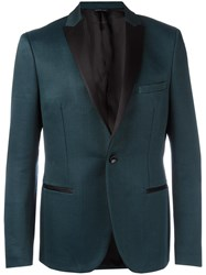Tonello Peaked Lapel Jacket Green