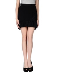 Emilio Pucci Mini Skirts Black
