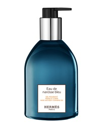 Hermes Eau De Narcisse Bleu Hand And Body Cleansing Gel 10 Oz.