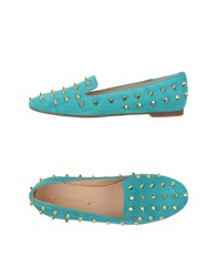 Sweet Ballerina Moccasins Turquoise