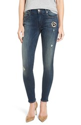 True Religion Women's Brand Jeans Halle Patch Skinny Jeans
