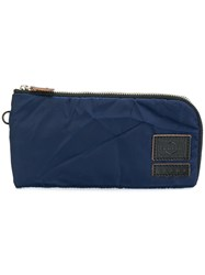 Marni All Around Zip Wallet Polyester Blue