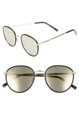 Seafolly Cottesloe 51Mm Round Lens Sunglasses Black