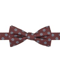 Vince Camuto Dotted Bow Tie Red