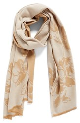 Nordstrom Women's Graphic Floral Print Scarf