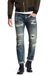 Cult Of Individuality Rebel Straight Leg Jean Blue