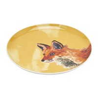 Joules Wild Thing Tea Plate Fox