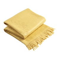 Christy Lace Throw 130X170 Ochre