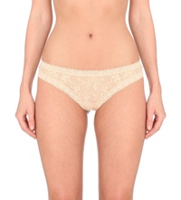 Dkny Signature Lace Thong Pretty Nude