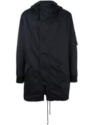 Just Cavalli Hooded Coat Black