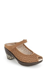 Jambu Women's 'Journey Encore' Mary Jane Sandal Oatmeal Beige Leather