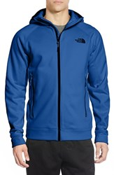 The North Face Men's 'Nacio' Active Fit Full Zip Fleece Hoodie Monster Blue
