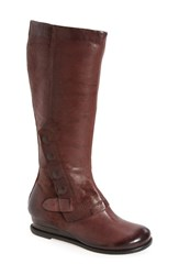 Miz Mooz Women's Bennett Boot Wine Leather