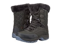Hi Tec St Moritz Lite 200 I Wp Charcoal Steel Grey Lustre Women's Work Boots Black