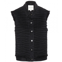 Each X Other Sleeveless Denim Jacket Black