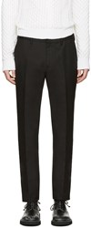Calvin Klein Collection Black Crosby Trousers