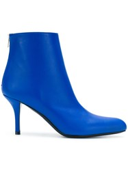 Marni Stiletto Ankle Boots Blue
