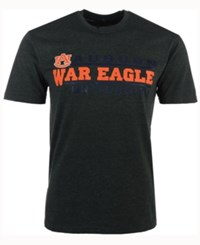 Colosseum Men's Auburn Tigers Verbiage Stack T Shirt Charcoal