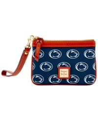 Dooney And Bourke Penn State Nittany Lions Exclusive Wristlet Navy