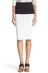 Women's Tracy Reese Knit Combo Skirt