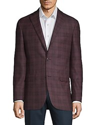 Saks Fifth Avenue Red Conway Raspberry Sportcoat