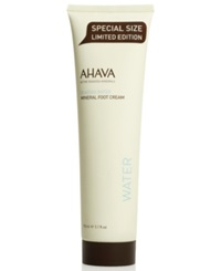 Ahava Mineral Foot Cream Special Size Limited Edition 5.1 Oz