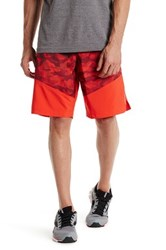 Reebok Graphic Print Board Short Red