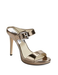 Michael Michael Kors Beverly Mules Silver