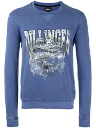 Just Cavalli 'Dilliger' Sweatshirt Blue