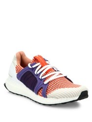 Adidas By Stella Mccartney Ultra Boost Multitoned Running Sneakers Red Multi