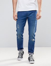 Pepe Jeans Hatch Slim Fit Tru Blu Wash Blue