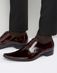 Jeffery West Centre Seam Leather Shoes Red