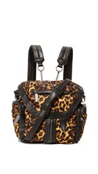 Alexander Wang Mini Marti Convertible Backpack Leopard