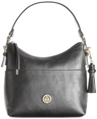 Tommy Hilfiger Summer Of Love Small Hobo Black