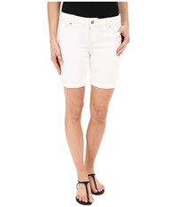 Liverpool Corine Lightweight Denim Shorts In Bright White Bright White Women's Shorts