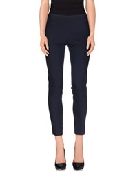 Compagnia Italiana Trousers Casual Trousers Women Dark Blue