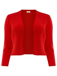 Windsmoor Pleated Shrug Red