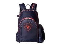 Ariat Ring Backpack Navy Red Backpack Bags Multi