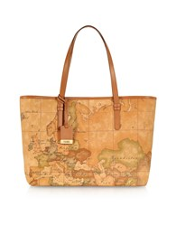 Alviero Martini 1A Classe Handbags 1A Prima Classe Geo Printed Large 'New Basic' Tote Bag