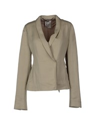 Gold Case Suits And Jackets Blazers Women Light Grey