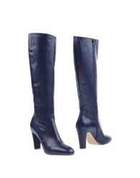 Michel Perry Boots Dark Blue