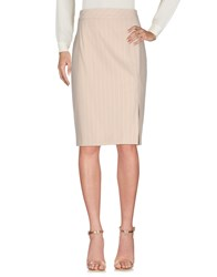 Martinelli Knee Length Skirts Sand