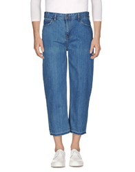 Scout Denim Capris Blue
