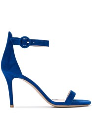 Fabio Rusconi Ankle Strap Sandals Blue