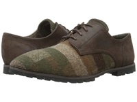 Woolrich Adams Wool Camo Wool Rawhide Men's Lace Up Casual Shoes Brown