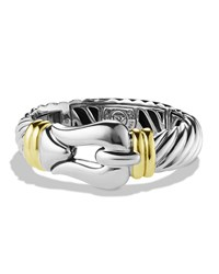 Cable Buckle Bracelet With Gold David Yurman